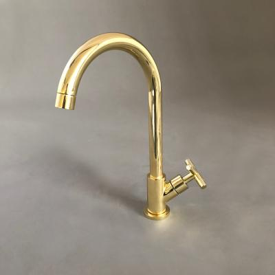 Bordo Round Brass (Cold only tap)