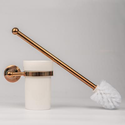 Toilet Brush Rose Gold